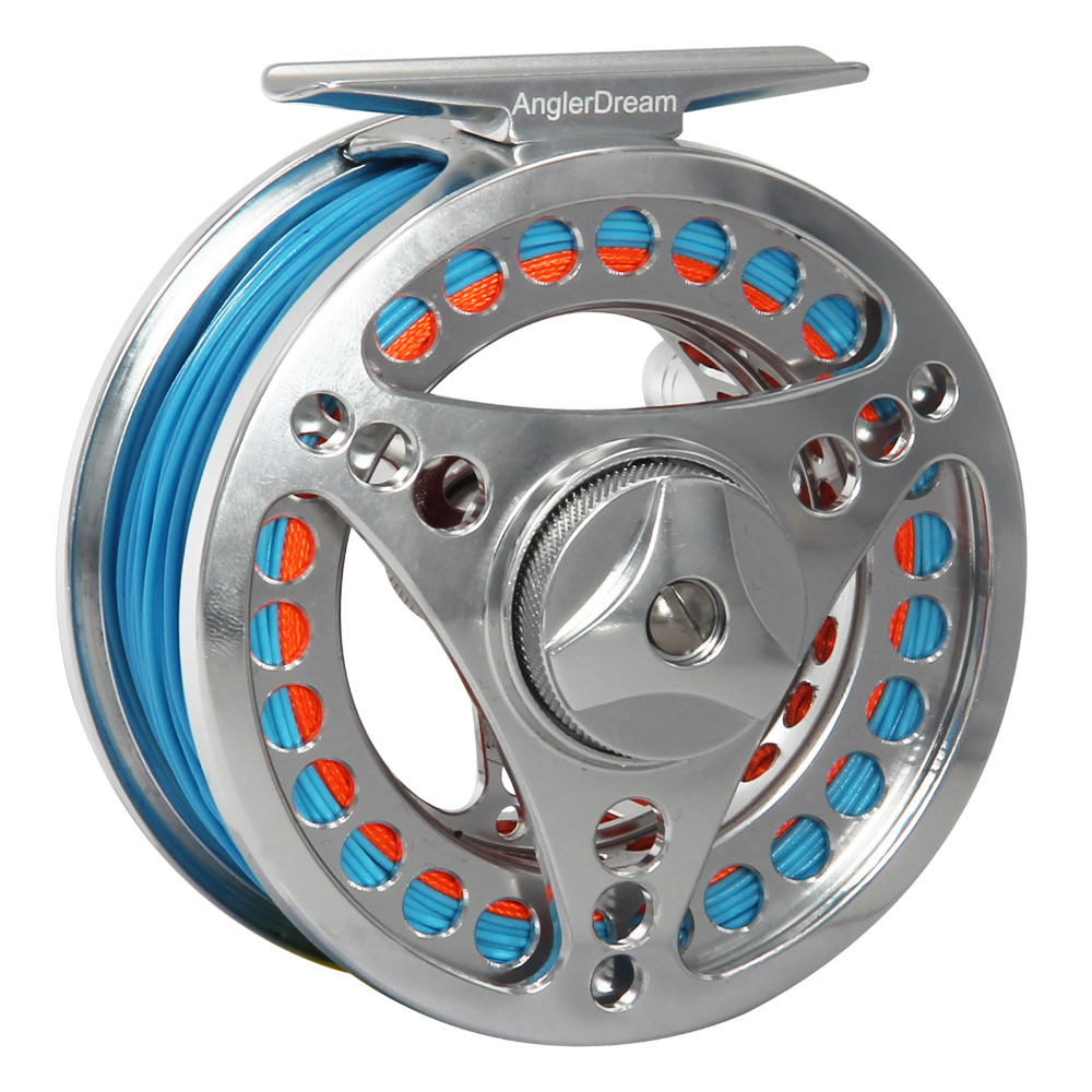 Angler Dream Fly Fishing Reel Combo 3/4 5/6 7/8 9/10 Machined Aluminum Full Metal Fly Fishing Wheel Saltwater Freshwater Fishing