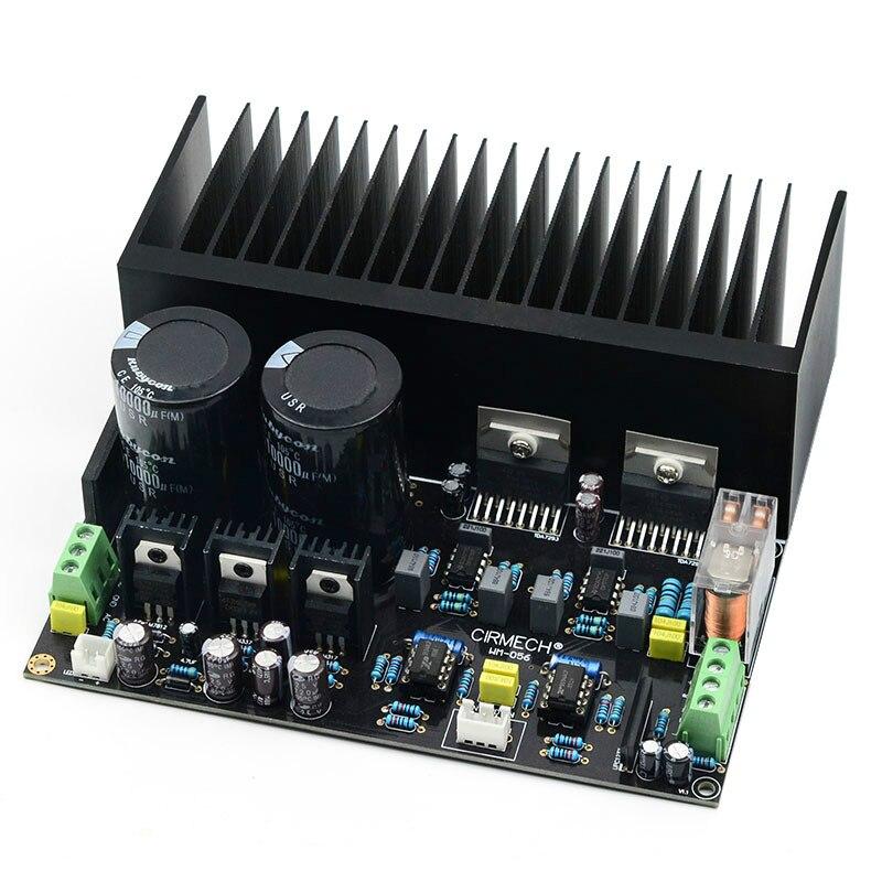 SOTAMIA TDA7293 amplificateur de puissance carte Audio 100W * 2 amplificateur de son stéréo Kits de bricolage avec dissipateur thermique NE5534 OP Amp Home cinéma bricolage