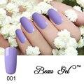 Beau Gel Top Coat and Base Coat 10ML Long lasting Bling Pink Purple Soak Off Varnish Manicure Gel Lacquer Nail Polish