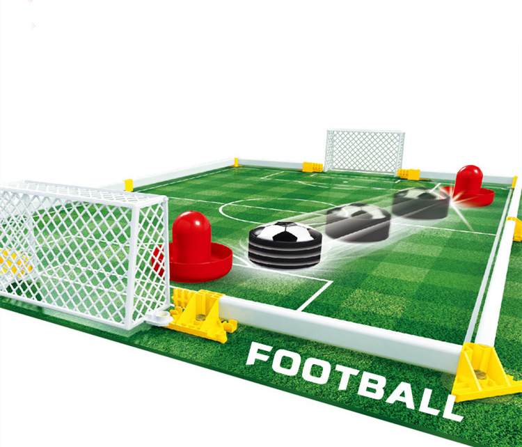 [New] VS Human electric magnetic levitation football board game Mini Football field toy family parent-child interactive Toy gift ...