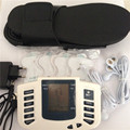 electronic pulse therapy massager + foot massage slippers acupuncture stroke electrode tens machine muscle stimulator sculptor