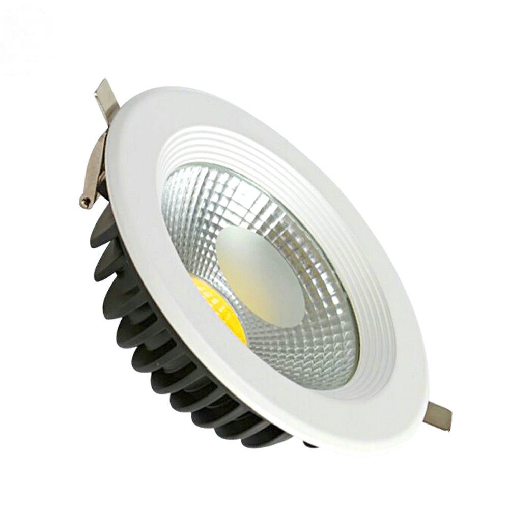 10 шт. новые светодиодные светильники 7 Вт светильники Светодиодные светильники потолочный светильник Встраиваемый светильник