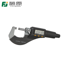 FUJIWARA 0-25cm Digital Display Micrometer External Micrometer 0.001mm Caliper Gauge Measuring Tool