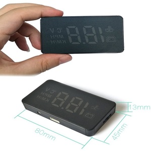 Image 4 - Car Head Up Display Overspeed Warning System Projector Windshield Auto Electronic Voltage Alarm HUD A100