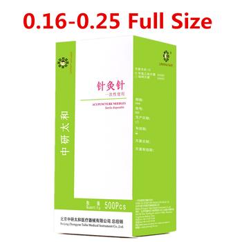 500 sztuk pudło Zhongyan Taihe igła do akupunktury jednorazowe igły do akupunktury masażu kosmetycznego igły tanie i dobre opinie RROZZ 500pcs box