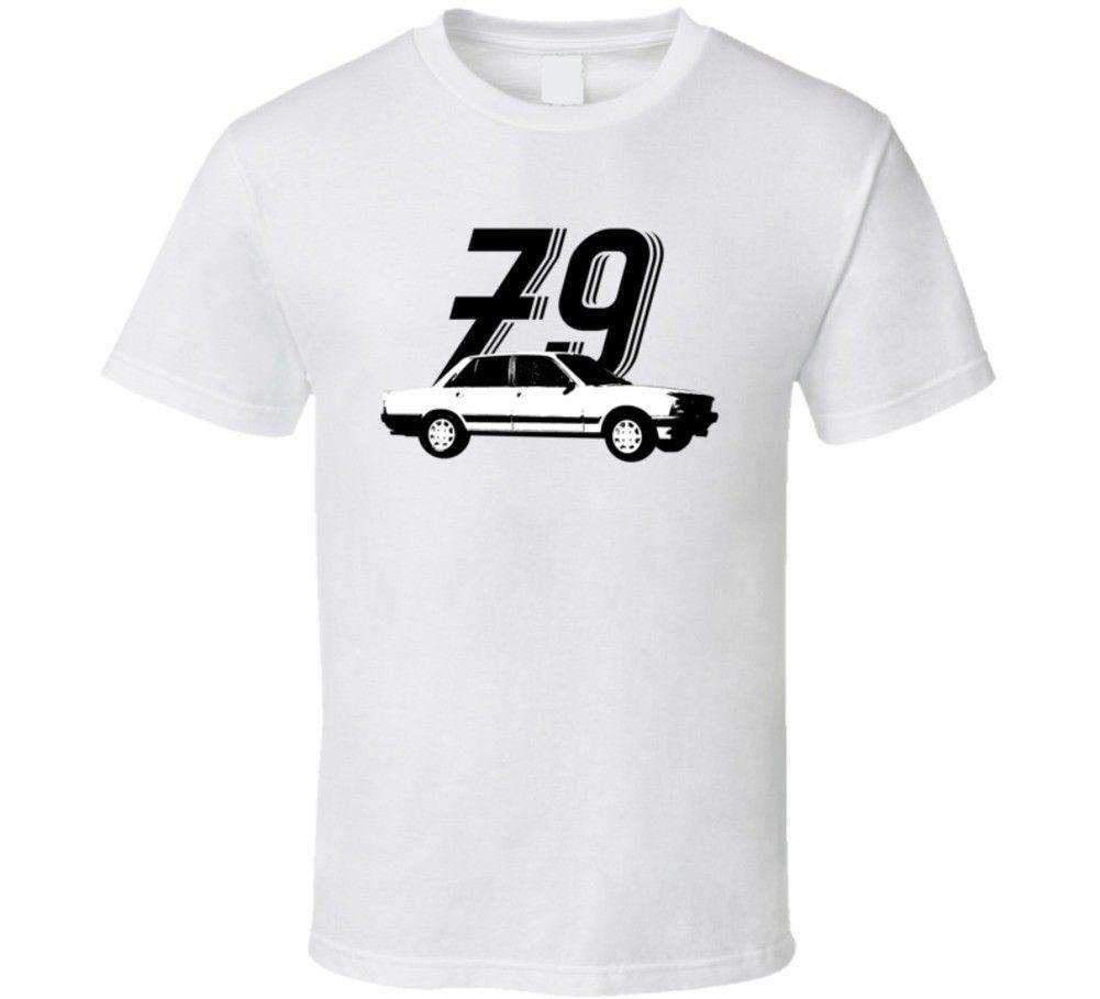 1979 Peugeot 505 2 2 Gti Turbo Vintage Car Year T Shirt