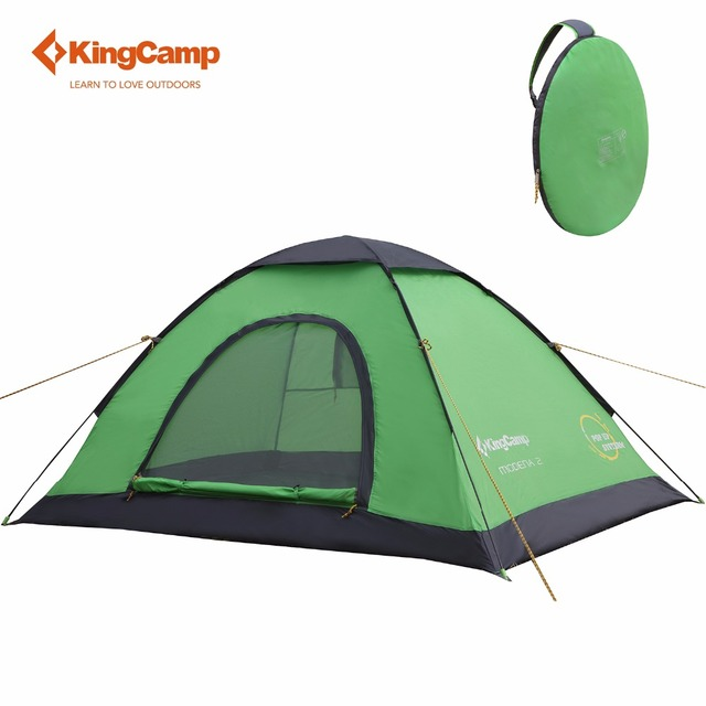 KingC& C&ing Tent 2-Person Outdoor Portable Lightweight Instant Dome Pop up tent With Carry  sc 1 st  AliExpress.com & KingCamp Camping Tent 2 Person Outdoor Portable Lightweight ...