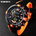 Nueva marca de wahshun hombres reloj militar deportes relojes de silicona de moda a prueba de agua llevó el reloj digital para hombres reloj digital de reloj