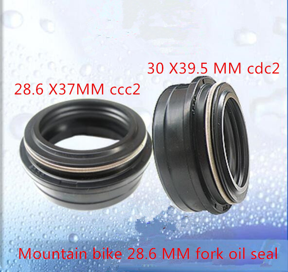 Mountain bike bicycle front fork oil seal before the bike Seal repair parts use size 28.6*37/ 30*39.5 MM honda 51490 mn8 305 seal set fr fork