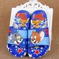 Amapo Niños Zapatos de Verano Sandalias de Dibujos Animados Tom Jerry Babouche Chinela Lindas Muchachas de Los Muchachos 4 Colores Zapatilla de Alta Calidad Peso 200-300g