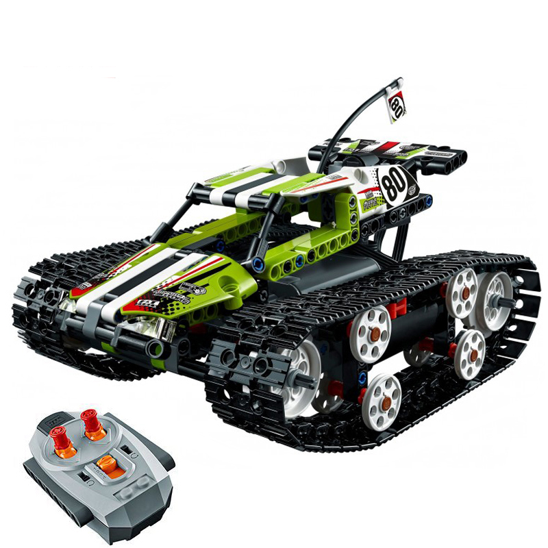 Lepin 20033 Technic Series The RC Track Remote-control Race Car Set Building Blocks Bricks Educational Lovely Gifts Toys 42065