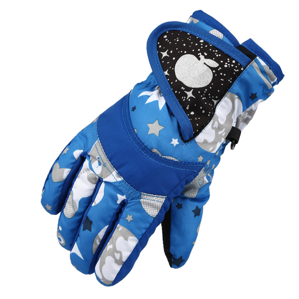 Hot Sales Winter Professional Ski Gloves Girls Boys Adult Waterproof Warm Gloves Snow Kids Windproof Skiing Snowboard Gloves(China)