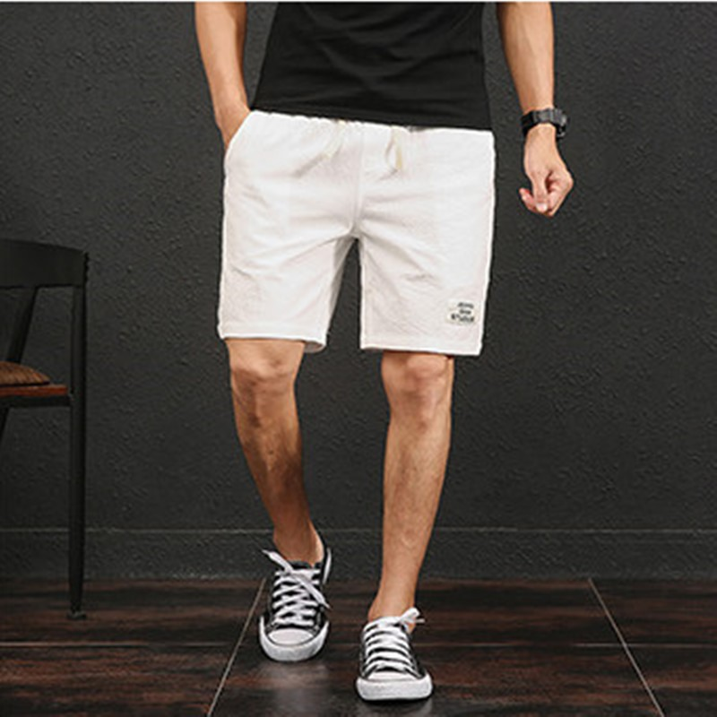 Pioneer Camping Solid Casual Shorts Men's Brand Clothing Simple Summer Cotton Shorts Men's Quality Stretch Friends Play Beach image