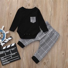 Get more info on the Toddler Baby Boys Long Sleeve Plaid Print Tops+Pants Outfits Clothes Set Winter Clothes For Baby Clothing