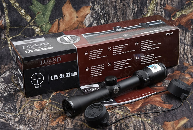 Legend Ultra Hd 1.75-5x32 Rifle Scope High Definition Coating Glass Lens Waterproof Shockproof Hunting Shooting M5929