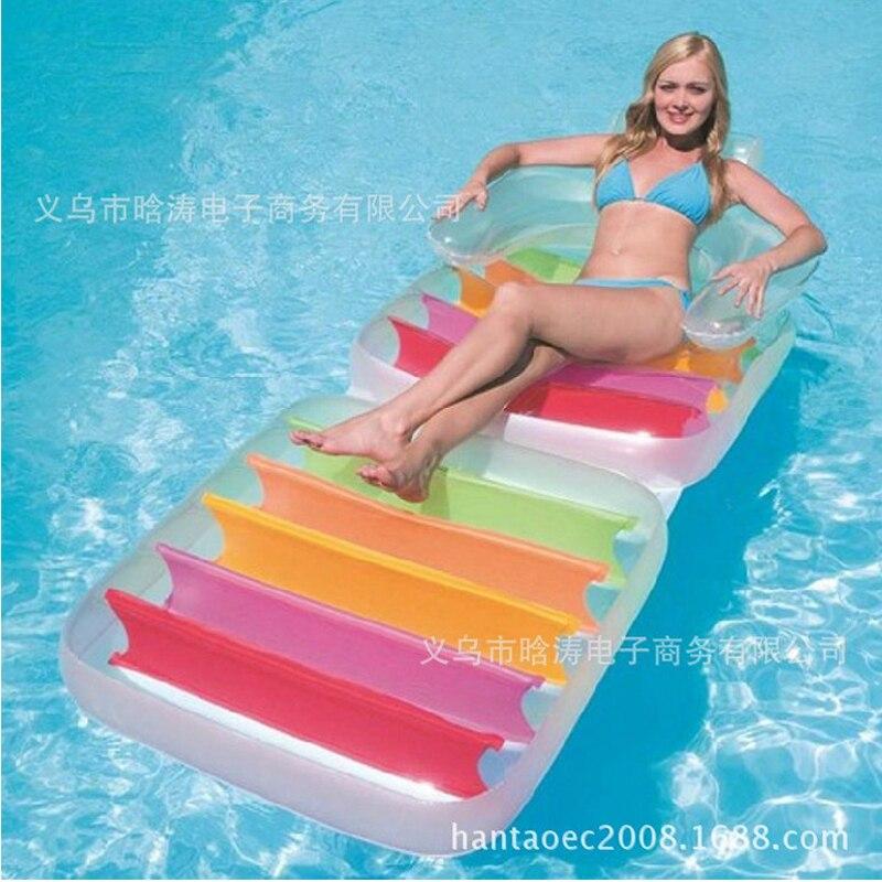 Nouveauté INTEX eau salon eau canapé 198*94 cm air matelas eau jeu jouet relaxant B39005 - 3