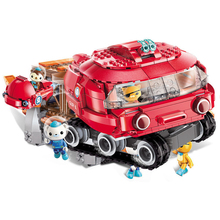 ENLIGHTEN 3707 395 adet ahtapot at nalı yengeç Octonauts karikatür Enlighten modeli yapı kitleri blokları tuğla oyuncaklar çocuklar için