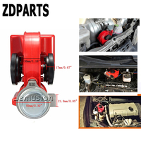 ZDPARTS For Skoda Octavia A5 A7 2 Rapid Fabia Opel Astra J G H Insignia Mokka Car Automobiles 12V 130db Two Tone Snail Air Horn