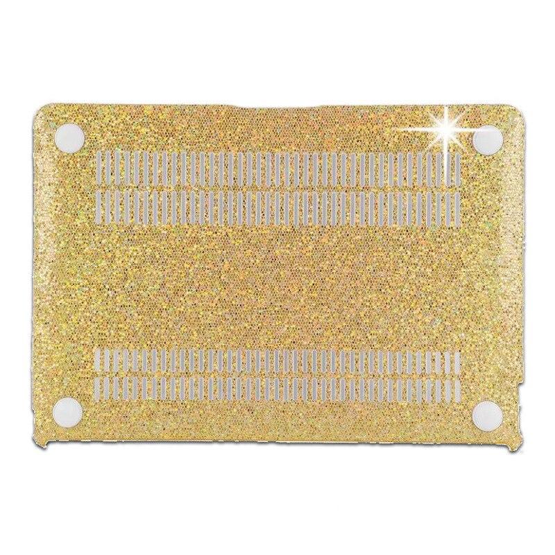 Błyszczący wzór plastikowy pokrowiec Fashion Brokat dla Macbook - Akcesoria do laptopów - Zdjęcie 6