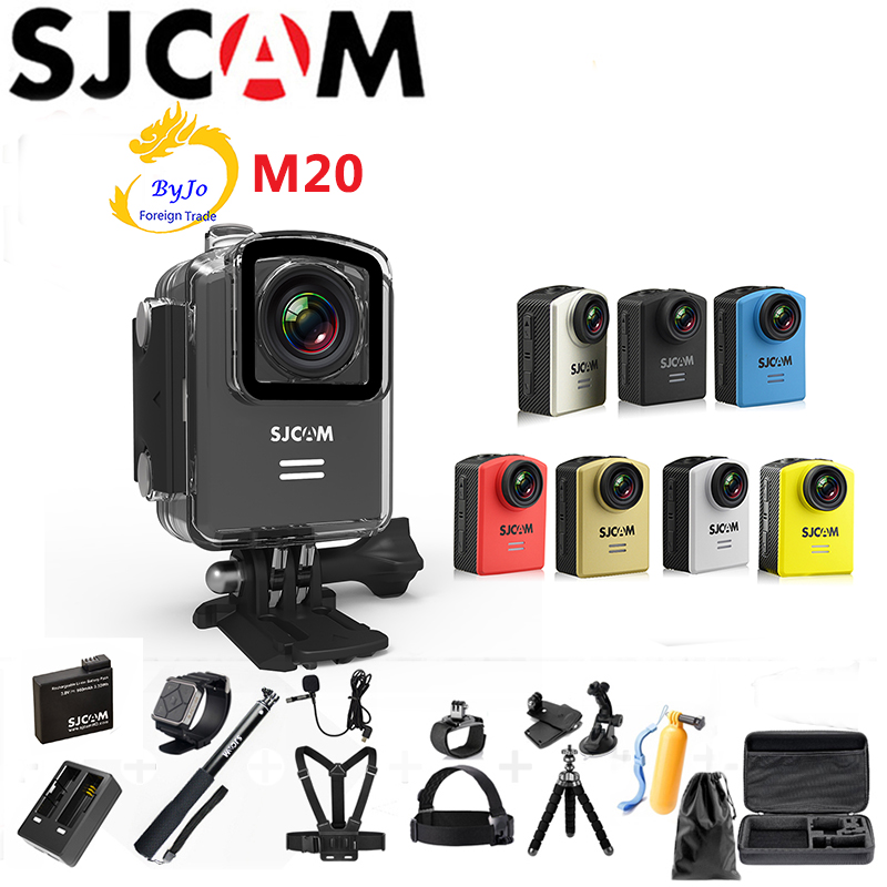 "Original SJCAM M20 Wifi 4K 24fps HD 2.0"" Remote Waterproof Sports Action Camera"
