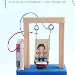 DIY Magnetic Swing Set Handmad