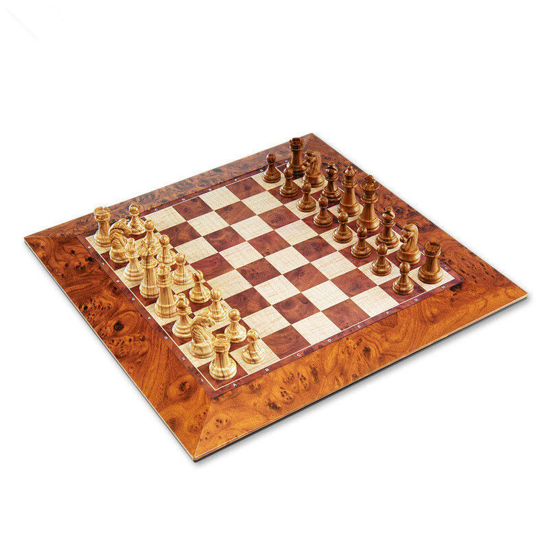 1 Set Brand Classic Wood Champions Magnetic Chess Set Board Game Wooden Chess Pieces Magnetic Board De Xadrez Checkers межсетевой экран d link dsr 250 a2a гигабитный сервисный маршрутизатор