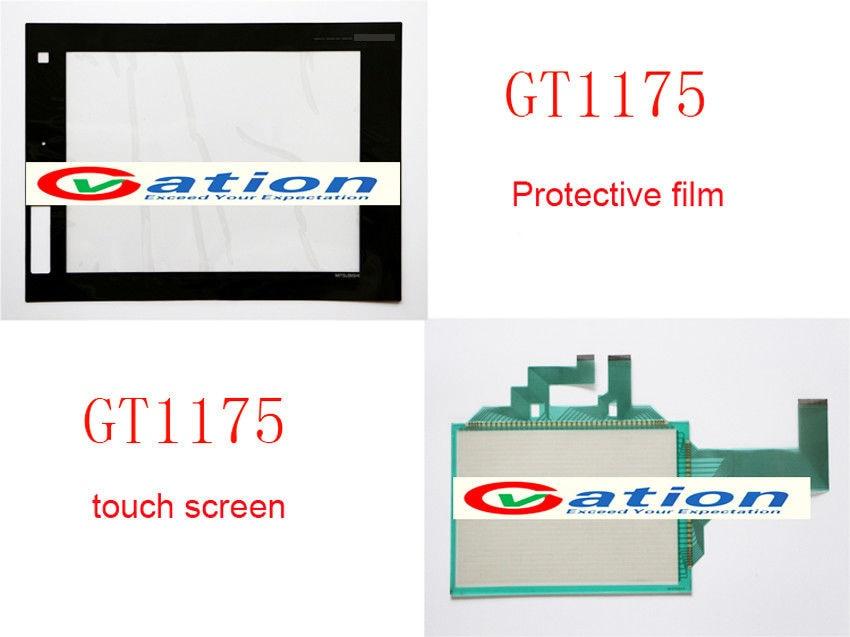 New For GT1175-VNBA-C,GT1175VNBAC Touch Panel Glass + Protective Film new original motor gt1175 vnba c