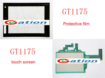 New For GT1175-VNBA-C,GT1175VNBAC Touch Panel Glass + Protective Film