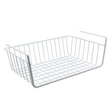 YONTREE 1 pc Storage Rack Basket Shelf Kitchen Bathroom Shelves Iron Hook Hang Organizer Storage Dish Racks