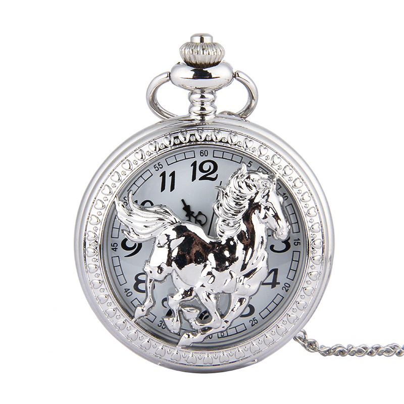 Fashion Men Women Watches Bronze Pocket Watch Vintage Chain Necklace Horloges Mannen Dropship For Gift 2019 Relogio Feminino