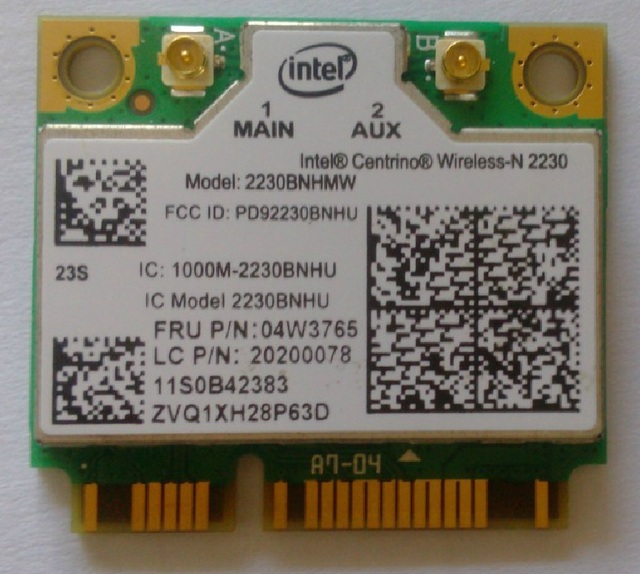 Novo intel centrino cartão wi-fi sem fio bluetooth 4.0 wireless-n 2230 2230 2230bnhmw 802.11 b/g/n mini pci-e para ibm e430 e330 04w3765
