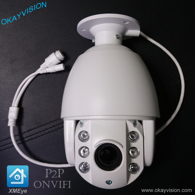 4X Optical Zoom 960p 1.3mp IR speed dome p2p security IP Cameras and outdoor & indoor with XM module P2P ONVIF ip ptz camera