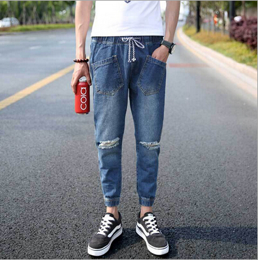 Aliexpress.com : Buy New Arrival Cotton Men Hip Hop Baggy Jeans ...