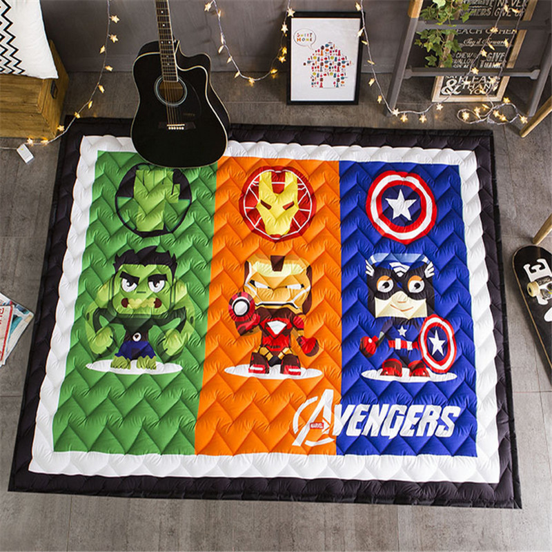 1.5cm 2.5cm bear star baby child playmat rug boys girls game carpet cartoon 145*195cm blanket cars rabbit owl Play Mat bears floormat cartoon playmat boys girls game carpet animals blanket baby child 2 5cm rug skidproof yoga 150 200cm picnic mat
