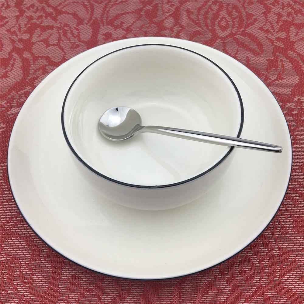 24 pcs 30 pcs 실버 칼 붙이 식기 식탁 세트 스테인레스 스틸 디너 포크 스테이크 나이프 스쿠프 세트은 제품 세트-에서식기 세트부터 홈 & 가든 의  그룹 3