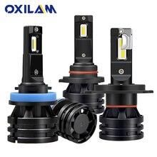 OXILAM 12000LM 52W H7 H11 LED Lamp Car Headlight Bulbs H8 9005 HB3 9006 HB4 9012 HIR2 Led H4 Hi Lo Mini Headlamp White 6000K 12V