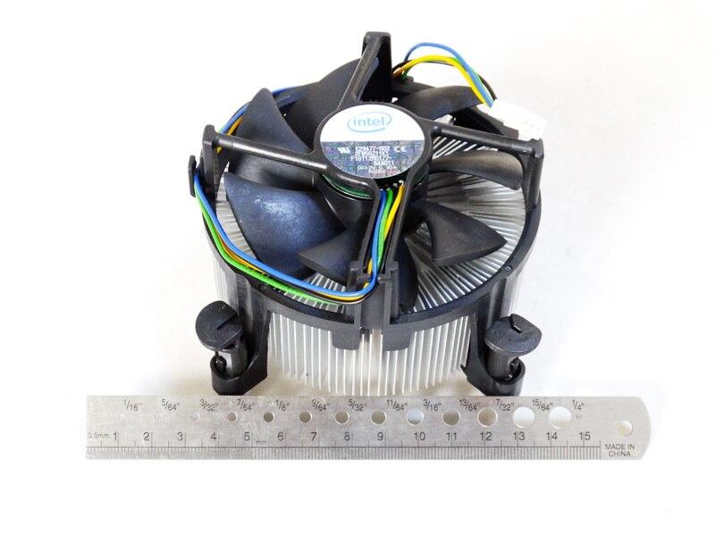 Original for Intel LGA1366 CPU i7 copper core radiator X58 main board server fan temperature control FONSONING original server board z9pa d8 double cpu c602 chip 2011 pins