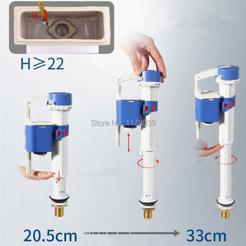 Versenkbare Wc Wassertank Füllventil J17499 Wassertank Teile Sets 26 Cm Split Toilettenspülung Ventil Geeignet Für Split Wc