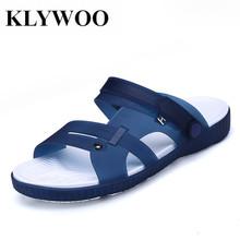 KLYWOO Fashion Casual Shoes Men Beach Sandals Casual Men Shoes Summer Fashion Beach Slippers Sapatos Hembre Sapatenis Masculino