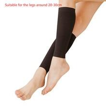 158919b50d0f9d Slim Leg Shaper Socks Elastic Beam Legs Stockings Burn Fat Varicose Veins  Compression Skinny Calf Socks