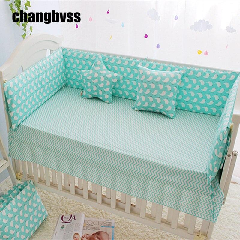 बच्चों को बम्पर, पालना में सांस लेने वाले बम्पर, बच्चे को पालना बम्पर शीट, शिशु रक्षक सुरक्षित बिस्तर सेट खाट, 120X60,120X70CM, 7 आकार