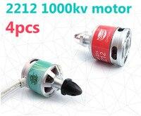4pcs OWLUAV S380 LJI 2212 1000KV Brushless Self Lock Motors CW CCW Motors With Accessories For