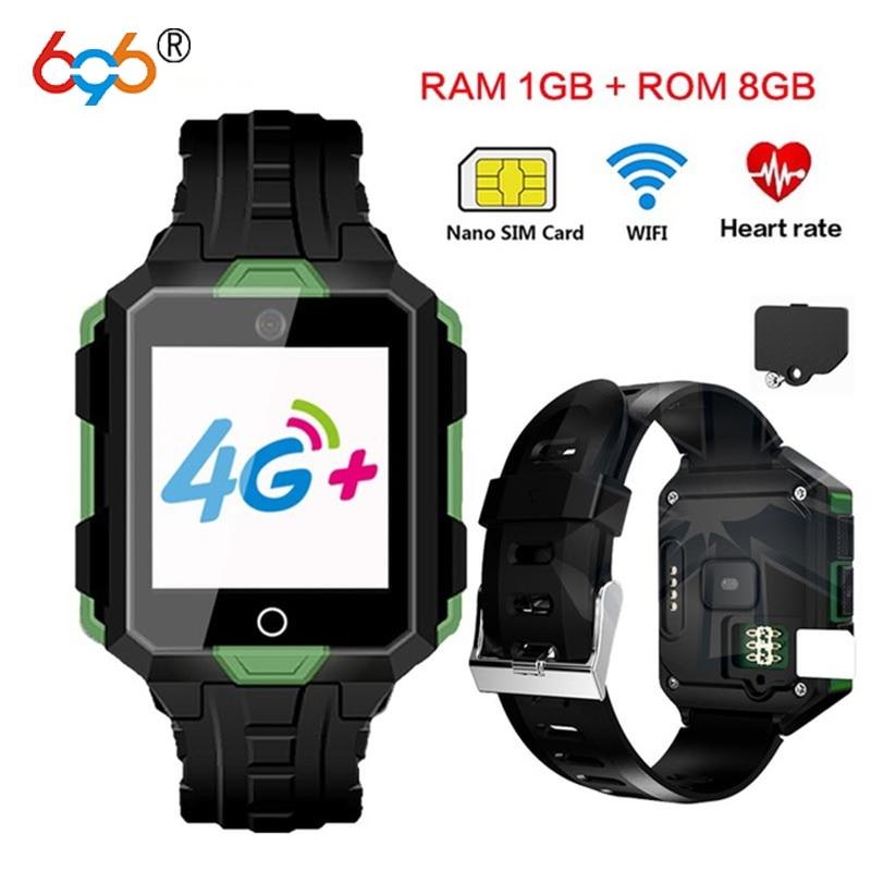 696 M9 montre intelligente 4G Android6.0 a Bluetooth/appel téléphonique vivo étanche hommes