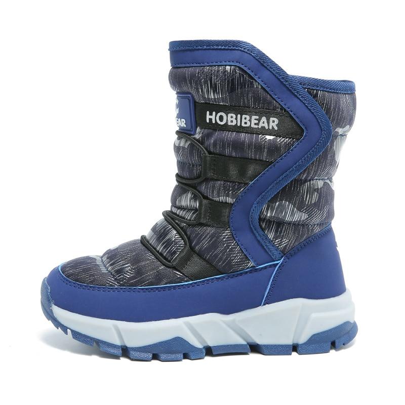 Jungen Mädchen Schuhe Winter Ski Stiefel Kinder Schnee Stiefel Mode Plüsch Kinder Schuhe Wasser-proof Outdoor Halten Warmchildren Stiefel