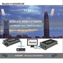 120m HSV891W Wireless hdmi extender transmitter receiver with audio extractor Wireless hdmi extender 300m miximum indoor