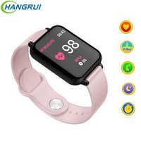 B58 relógio inteligente b57 ip67 à prova dip67 água esporte smartwatch freqüência cardíaca pressão arterial para samsung iphone telefone inteligente para homem mulher