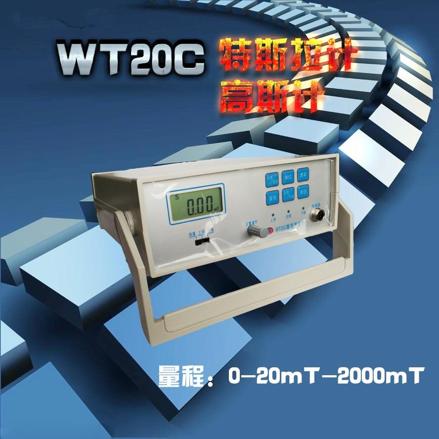WT20C настольных интеллектуальных Гаусса метр Таблица Гаусса метр, Тесла метр, флюксметр, магнитометр, магниты, ndfeb