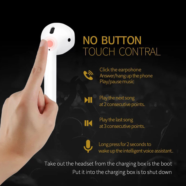 Original New Handsfree Headphones i10 tws i9s i11TWS Bluetooth Earphone  1