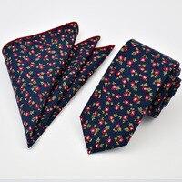 2017 Promotion Vente Hommes de Mode Version Coréenne De La Étroite cravate Coton Ceinture Poche Sac Serviette Costume Chemise Cravate Marié marié