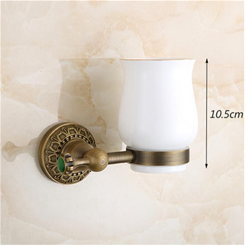 Badezimmer Antike Bad Accessoires Einzelbecherhalter Becherhalter